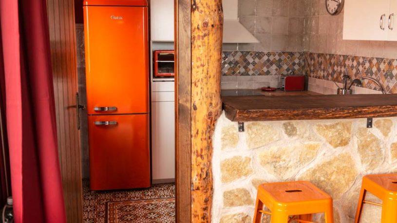 Casita La Acabaña: Cocina